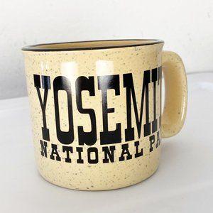 Vintage Speckled Yosemite National Park Large Mug